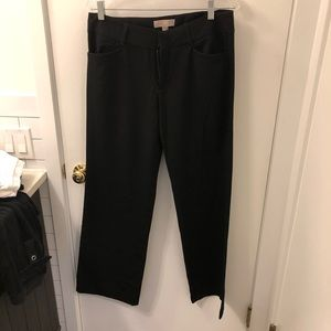 Michael Kors women's black work pants 8
